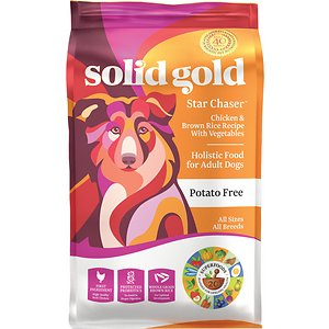 Solid Gold Star Chaser Chicken & Brown Rice with Vegetables Adult Dry Dog Food