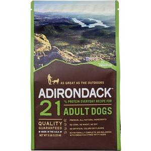 Adirondack 21% Adult Everyday Recipe Dry Dog Food