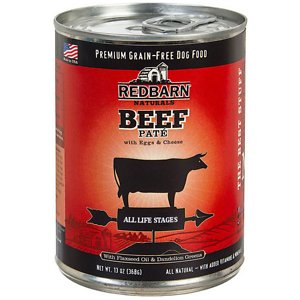 Redbarn Naturals Beef Pate All Stages Grain-Free Canned Dog Food