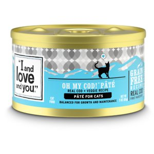 I and Love and You Oh My Cod! Pate Grain-Free Canned Cat Food