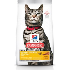 Hill's Science Diet Adult Urinary Hairball Control Dry Cat Food