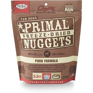 Primal Pork Formula Nuggets Grain-Free Raw Freeze-Dried Dog Food
