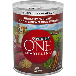 Purina ONE SmartBlend Tender Cuts in Gravy Lamb & Brown Rice Entree Adult Canned Dog Food