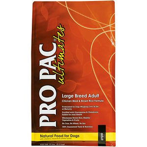 Pro Pac Ultimates Chicken Meal & Brown Rice Large Breed Adult Dry Dog Food