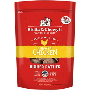 Stella & Chewy's Chewy's Chicken Dinner Patties Freeze-Dried Raw Dog Food