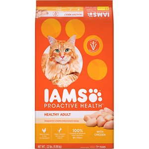Iams ProActive Health Healthy Adult Original with Chicken Dry Cat Food