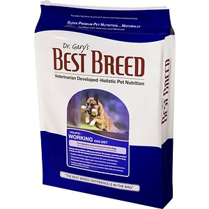 Dr. Gary's Best Breed Holistic Working Dry Dog Food