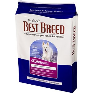 Dr. Gary's Best Breed Holistic Grain-Free Salmon with Fruits & Vegetables Dry Dog Food