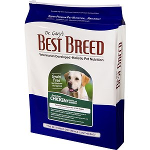 Dr. Gary's Best Breed Holistic Grain-Free Chicken with Fruits & Vegetables Dry Dog Food