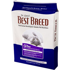 Dr. Gary's Best Breed Holistic Grain-Free All Life Stages Dry Cat Food