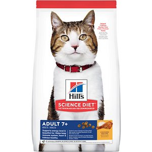 Hill's Science Diet Adult 7+ Chicken Recipe Dry Cat Food