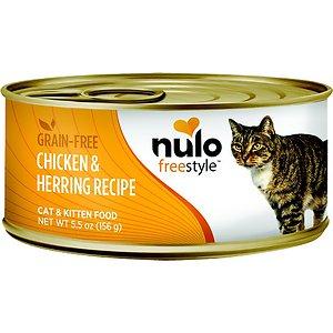 Nulo Freestyle Chicken & Herring Recipe Grain-Free Canned Cat & Kitten Food