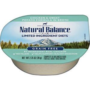 Natural Balance L.I.D. Limited Ingredient Diets Chicken & Sweet Potato Formula Shreds Grain-Free Wet Dog Food