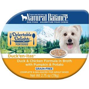 Natural Balance Delectable Delights Duck'en-itas Grain-Free Wet Dog Food