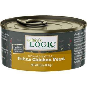 Nature's Logic Feline Chicken Feast Grain-Free Canned Cat Food