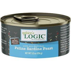 Nature's Logic Feline Sardine Feast Grain-Free Canned Cat Food