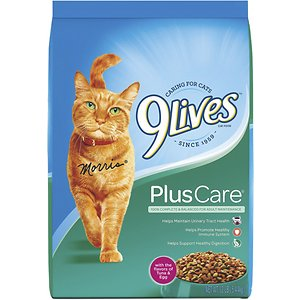 9 Lives Plus Care with Tuna & Egg Flavor Dry Cat Food