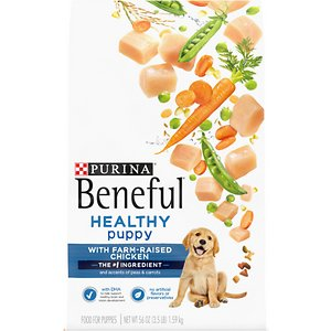 Purina Beneful Healthy Puppy with Farm-Raised Chicken Dry Dog Food