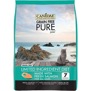 CANIDAE Grain-Free PURE Limited Ingredient Salmon Recipe Dry Cat Food