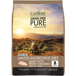 CANIDAE Grain-Free PURE Limited Ingredient Chicken Recipe Dry Cat Food