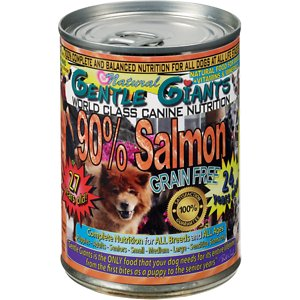 Gentle Giants 90% Salmon Grain-Free Wet Dog Food