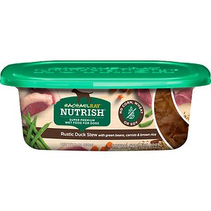 Rachael Ray Nutrish Natural Rustic Duck Stew with Green Beans