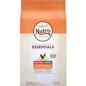 Nutro Wholesome Essentials Small Breed Senior Farm-Raised Chicken