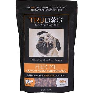 TruDog Feed Me Crunchy Munchy Beef Bonanza Raw Freeze-Dried Dog Food