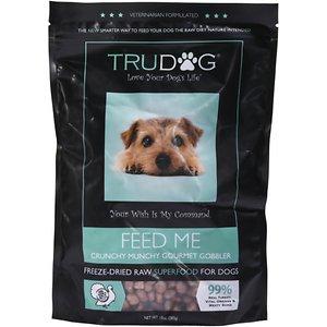 TruDog Feed Me Crunchy Munchy Gourmet Gobbler Raw Freeze-Dried Dog Food