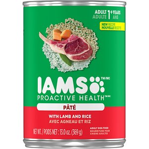 Iams ProActive Health Adult With Lamb & Rice Pate Canned Dog Food