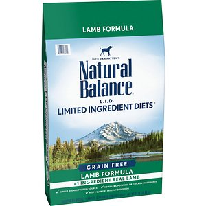 Natural Balance L.I.D. Limited Ingredient Diets Grain-Free Lamb Formula Dry Dog Food