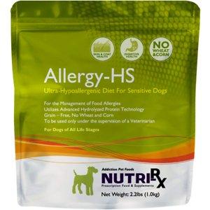 Addiction Nutri-RX Allergy-HS Ultra-Hypoallergenic Grain-Free Dry Dog Food
