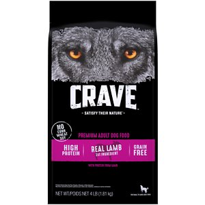 Crave High Protein Lamb Adult Grain-Free Dry Dog Food