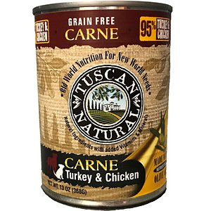 Tuscan Natural Carne Grain-Free Turkey & Chicken Canned Dog Food