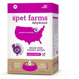 Spot Farms Turkey Grain-Free Human Grade Dehydrated Dog Food