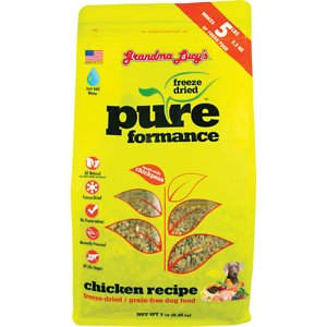 Grandma Lucy's Pureformance Chicken Grain-Free Freeze-Dried Dog Food