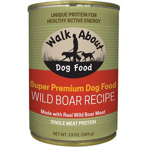 Walk About Wild Boar Recipe Grain-Free Wet Dog Food