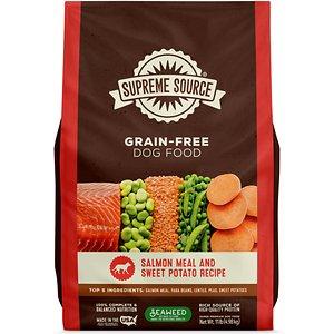 Supreme Source Grain-Free Salmon Meal & Sweet Potato Recipe Dry Dog Food