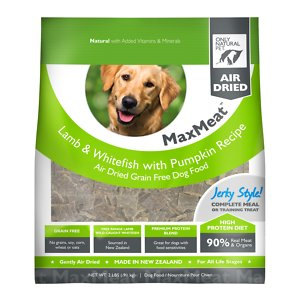 Only Natural Pet MaxMeat Lamb & Whitefish with Pumpkin Grain-Free Air-Dried Dog Food