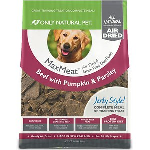 Only Natural Pet MaxMeat Beef Grain-Free Air-Dried Dog Food