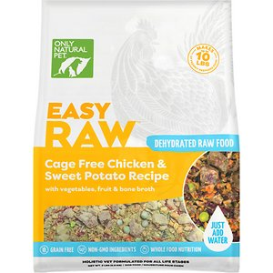 Only Natural Pet EasyRaw Chicken & Sweet Potato Grain-Free Raw Dehydrated Dog Food