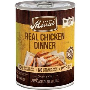 Merrick Grain Free Wet Dog Food Real Chicken Recipe