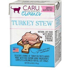 Caru Classic Turkey Stew Grain-Free Wet Cat Food