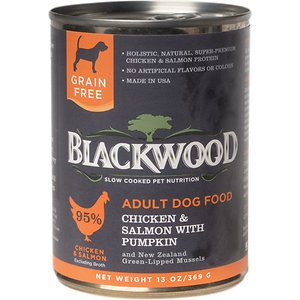 Blackwood Chicken & Salmon With Pumpkin Grain-Free Adult Canned Dog Food
