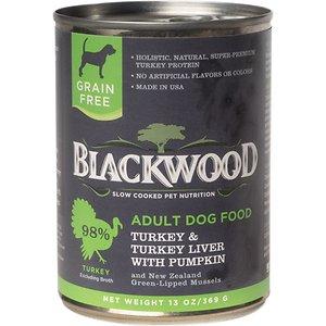 Blackwood Turkey & Turkey Liver With Pumpkin Grain-Free Adult Canned Dog Food