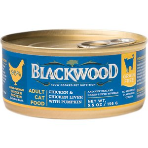 Blackwood Chicken & Chicken Liver With Pumpkin Grain-Free Adult Canned Cat Food