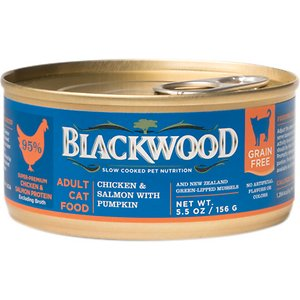 Blackwood Chicken & Salmon With Pumpkin Grain-Free Adult Canned Cat Food