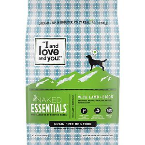 I and Love and You Naked Essentials Grain-Free Lamb & Bison Recipe Dry Dog Food