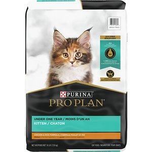 Purina Pro Plan Kitten Chicken & Rice Formula Dry Cat Food
