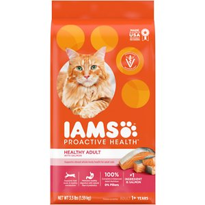 Iams ProActive Health Salmon Recipe Adult Dry Cat Food